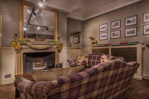 Writing Room Fireplace